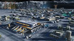 Anno 2205 is a futuristic city-building video game similar to Anno 2070, as opposed to the previous installments which feature a historical setting. In the game, players take on the role of a leader from a corporation and must compete against other corporations in developing future technologies