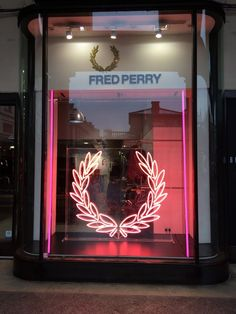 "FRED PERRY, Covent Garden, London,UK, ""The Bright Lights of SOHO"",by STUDIO XAG, pinned by Ton van der Veer"
