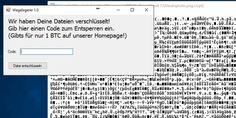 Können Sie diese Datei entschlüsseln? Dann sollten Sie sich beim BND bewerben