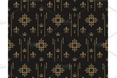 art deco style background by kio on Greek Pattern, Retro Pattern, Pattern Design, Textile Patterns, Damask Patterns, Floral Patterns, Photoshop Design, Art Deco Fashion, Background Patterns