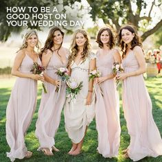 A major part of a successful wedding day is the bride and groom's abilities to be gracious hosts. Here are 7 easy ways to consider your guests on your wedding day.