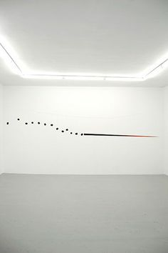 Edward Krasiński (1925-2004) Spear, c. 1963-64 Wood and metal wire Approx. 121 ¼ in. long (308 cm) Museum of Modern Art, New York