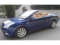 Ford Focus Cabrio, 2007, 45'500 km : Ford Focus cabriolet 2.0, toit en dur, essence, manuelle, 4 places, 145cv, intérieur cuir beige, extérieur bleu nuit, expertisée, tout option : sièges chauffants, climatisation, radar de recul, rég...