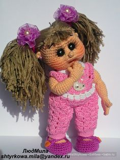Светочка,кукла крючком,людмила штыркова,кукла своими руками,