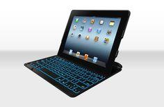 ZAGGkeys Backlit Keyboard Case Cover for iPad