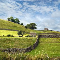 The Shire:  Summertime in the #Yorkshire #Dales, #England.