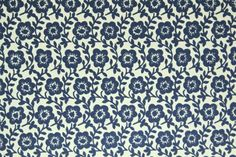 青い小花柄包装紙 - ラッピングペーパーと紙ものレガーロパピロ