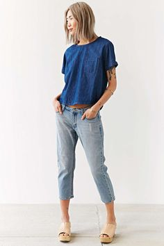 BDG Denim Pocket Tee from Urban Outfitters - $54
