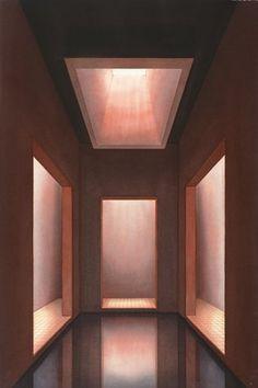 Lauretta Vinciarelli_Atrium in Red_1992