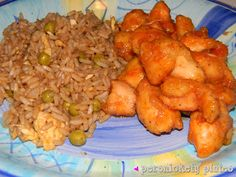 Baked Sweet & Sour Chicken with Fried Rice | Persnickety Plates