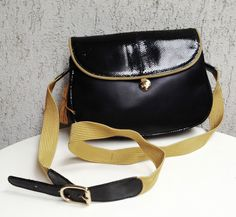 SADDLE  BAG LETROT PARIS  LIZARD LEATHER SADDLEBAG BORSA DA GIORNO 1960s