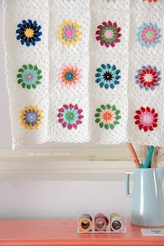 "Baby blanket ""down under"" #2 by IDA Interior LifeStyle, via Flickr"