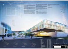 Galeria - Menção Honrosa no Concurso para a Sede Administrativa da Câmara de Vereadores de Porto Alegre / A3 arquitetura.engenharia - 20