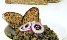Čočkový salát Lentil Salad, Thing 1, Lentils, Banana Bread, French Toast, Breakfast, Desserts, Food, Morning Coffee