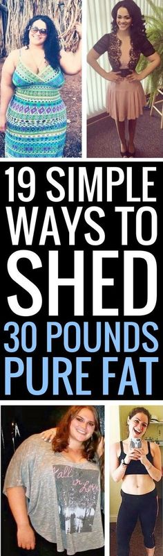 19 simple weight loss tricks that really work.