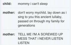 Hahaha, I will be that mom someday. :)