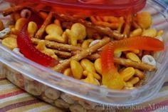 Gone Fishin' Snack Mix: cute for Awana or children's church snack.