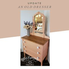 How to Update an Old Dresser | Netties Expressions Blog