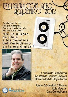Sergio Campos en la UPLA