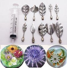 Jelly Art Tools 10 Pcs/set, KOOTIPS Gelatin Art Tools Set...