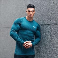 71eaf03dd91 2019 New Brand Long Sleeve Muscle Sportswear Fitness Gyms Men T-Shirt  Breathable Bodybuilding Clothing Shirt Crossfit Top Tee