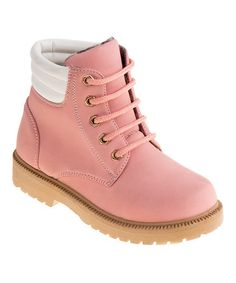 Look what I found on #zulily! Pink Ankle Boot #zulilyfinds