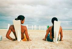 Hector Galvan's El Compadre Chairs Jam in the Sand for Comfort #beach #chairs trendhunter.com