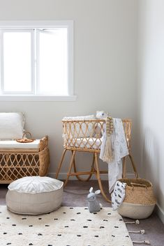 Three design experts forecast the Interior Design Trends that will be making waves in going to be a year full of Living Coral and Cane Furniture. Bohemian Interior, Interior Styling, Interior Design, Nursery Decor, Room Decor, Nursery Ideas, Nursery Artwork, Bohemian Nursery, Nursery Neutral
