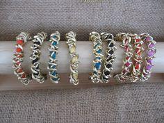 """#Alchimia #bracelet""""mollami"""" #aluminuim #lecce €7"""