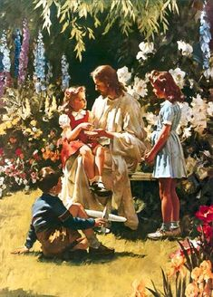What Happened To Your Hands by Harry Anderson...a really gifted Adventist artist...My son received this painting from his grandmother when he was born. He still hangs it in his home.