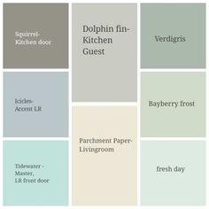 Valspar Kitchen Paint Color Options gray/blue/light teal