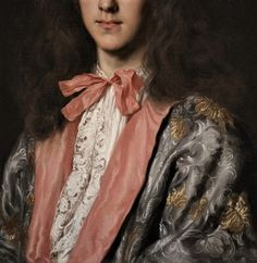 Portrait of Young Nobleman by Jacob- Ferdinand Voet