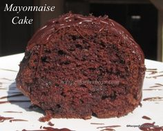 Devil's Food Mayonnaise Cake: Recipes For My Boys Just Desserts, Delicious Desserts, Yummy Food, Cake Mix Recipes, Dessert Recipes, Mayonnaise Cake, Devils Food, Homemade Cakes, Cupcake Cakes