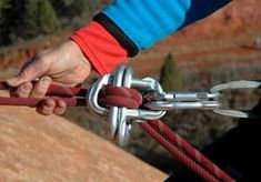 How do you rappel if you drop your rappel device on a rock climb? The best way to get down is by using the carabiner brake method. Prusik Knot, Climbing Technique, Tree Felling, Climbing Rope, Base Jumping, Rappelling, Whitewater Kayaking, Canoe Trip, Outdoor Survival