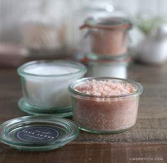 anti-aging secrets-- Sea salt face scrub and coconut oil face cleaner