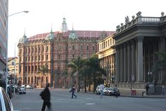 Original Central Railway Station & Post Office on right, Gardiner St, Durban News South Africa, Durban South Africa, South African Railways, Sa Tourism, Tourist Office, Beautiful Beaches, Beautiful Things, Kwazulu Natal, Travel Articles