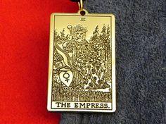 Pendant  Card Tarot The Empress Tarot 3rd card
