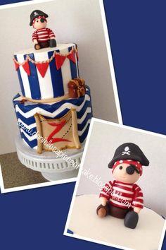 Cute pirate cake from Danielle!!