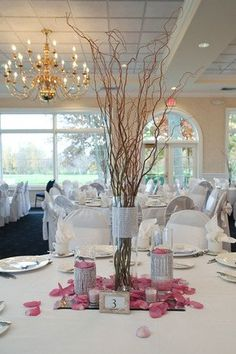 Wedding Reception Centerpieces Wedding Flowers Photos on WeddingWire