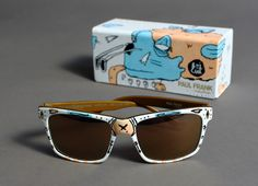 Paul Frank Sunglasses designed by Boicut Paul Frank, Wayfarer, Ray Bans, Sunglasses, My Style, Levis, Decal, Behance, Design