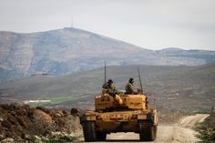 Turkey's Operation Olive Branch Extends East of Afrin Army Vehicles, Armored Vehicles, Syrian Civil War, Turkish Army, Modern Warfare, Armed Forces, Troops, Tanks, Armour