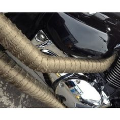 Wondering what the benefits of heat wrapping your exhaust are? Find out here. Motorcycle Exhaust, Cafe Racers, Exhausted, Benefit, Wrapping, Cars, Motorbikes, Autos, Car