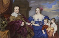 1632 Sir Kenelm and Lady Venetia Digby by or (probably) after Sir Anthonis van Dyck