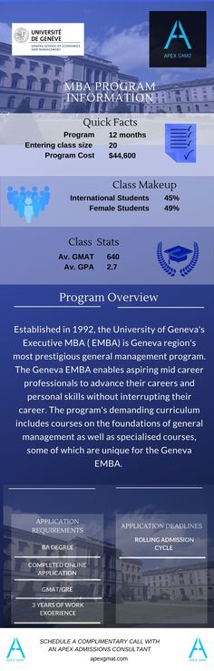 Find key information about the University of Geneva MBA such as the class profile, program overview, application requirements and dates! Gmat Prep, Latest Video, Geneva, Infographics, Curriculum, Dates, University, Profile, Student