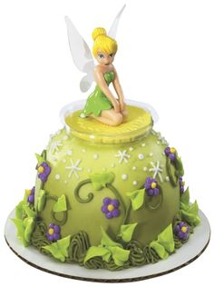 PETITE SGN-DISNEY FAIRIES-TINKER BELL WI Cake - Cakes.com - This is a great idea. Order online, pick up in store.