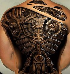 3D tattoo... Now that is a work of art