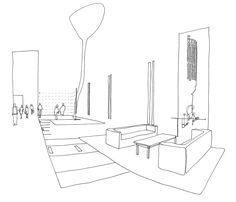 office artwork mural commissioned by DEXUS Property Group «  richardbriggs.com.au Office Artwork, Schematic Design, Work Project, Hand Sketch, Architectural Drawings, Architecture Photo, Paint Designs, Sketching, Art Drawings