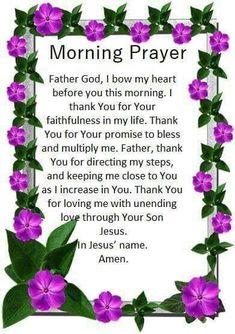 """Lord, great is Your faithfulness. Monday Morning Prayer, Monday Prayer, Morning Prayer Quotes, Prayer For Today, Night Quotes, Sunday Morning, Prayer Of Praise, Prayer Verses, Faith Prayer"
