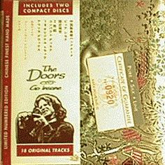 The Doors Go Insane silk box set released out of Italy in 1994 #thedoors #CD #album #limited
