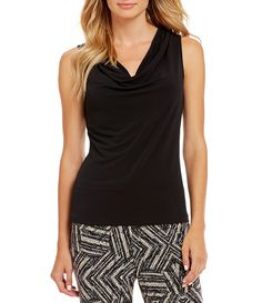 Shop for Calvin Klein Sleeveless Cowlneck Tank at Dillards.com. Visit Dillards.com to find clothing, accessories, shoes, cosmetics & more. The Style of Your Life.